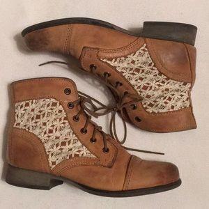 Steve Madden Thundr-C Boots sz 7